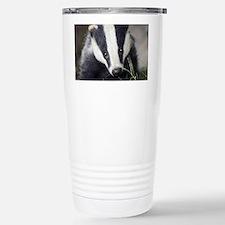 Cute Badger Travel Mug
