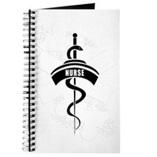 Nurse Heart Tattoo Journal