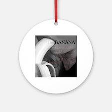 The BANANA Round Ornament