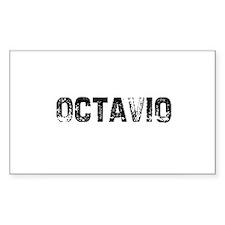 Octavio Rectangle Decal