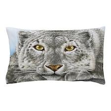 Snow Leopard King Duvet Pillow Case