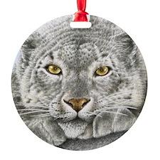 Snow Leopard King Duvet Ornament