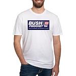 Fitted T-Shirt (Bush-Pinochet)
