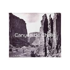 canyondchsq2 Throw Blanket