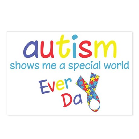 Autism Postcards (Package of 8)