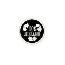 100% Jugglable Mini Button