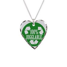 100% Jugglable (Green) Necklace