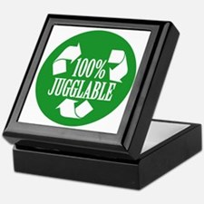 100% Jugglable (Green) Keepsake Box
