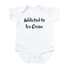 Addicted to Ice Cream Infant Bodysuit