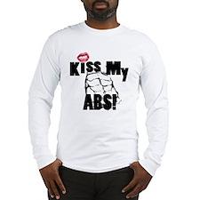 Kiss My Abs Long Sleeve T-Shirt