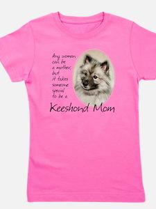Keeshond Mom Girl's Tee