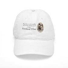 Keeshond Mom Baseball Cap