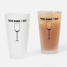 Custom White Wine Glass Drinking Glass