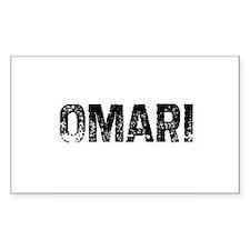 Omari Rectangle Decal