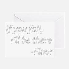 Floor Greeting Card