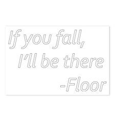 Floor Postcards (Package of 8)