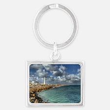 Farol - Culatra Island Landscape Keychain