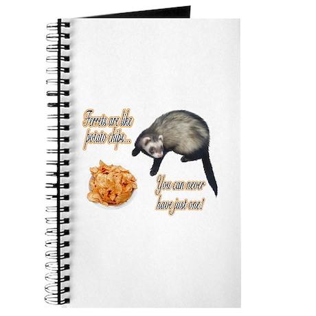 Ferrets are like potato chips... Journal