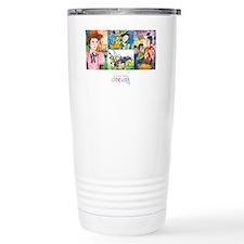 Art with logo Travel Mug