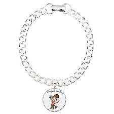 i-poop-fem-LTT Charm Bracelet, One Charm