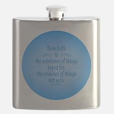 Hebrews 1 11 Scripture Flask