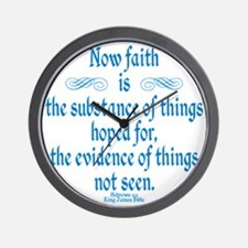 Hebrews 11 1 Wall Clock