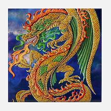 Golden Dragon 16x20 Tile Coaster