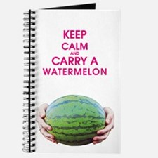 KEEP CALM AND CARRY A WATERMELON Journal