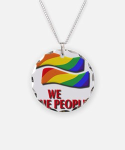 We the people, marriage equa Necklace