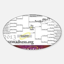 Lent Madness 2013 Bracket Decal