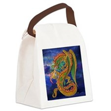 Golden Dragon  16x16 Canvas Lunch Bag