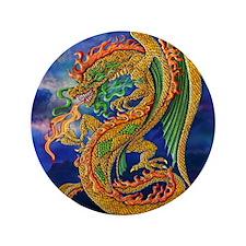 "Golden Dragon  16x16 3.5"" Button"