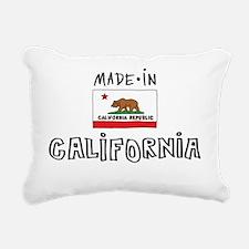 california-01 Rectangular Canvas Pillow