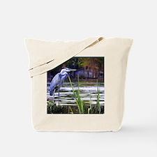 Blue Heron Sketch Tote Bag