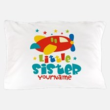 Little Sister Plane - Personalized Pillow Case