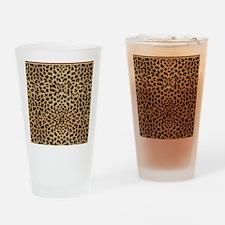Cheetah Animal Print copy Drinking Glass