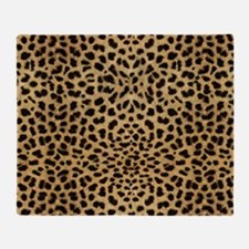 Cheetah Animal Print copy Throw Blanket