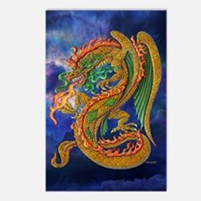 Golden Dragon 11x17 Postcards (Package of 8)