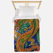 Golden Dragon 11x17 Twin Duvet