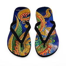 Golden Dragon 11x17 Flip Flops