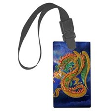 Golden Dragon 11x17 Luggage Tag