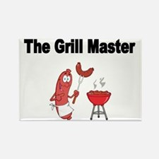 The Grill Master 2 Rectangle Magnet
