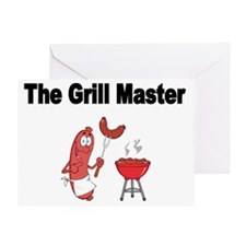 The Grill Master 2 Greeting Card