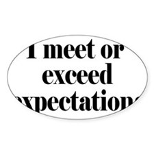 expectationsrectangle Decal