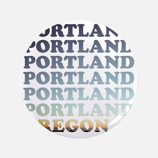 "portland, oregon 3.5"" Button"