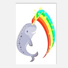 Magical Narwhal Postcards (Package of 8)