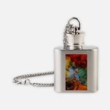 Glass Ceiling 3 Flask Necklace