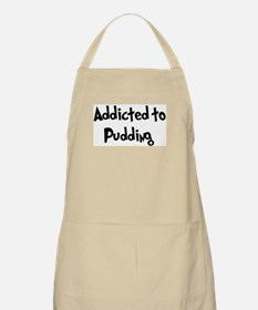 Addicted to Pudding BBQ Apron
