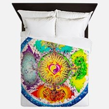 Four Seasons Mandala Queen Duvet