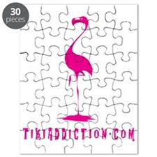 PINK FLAMINGO - ALL Puzzle